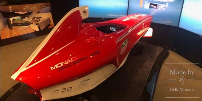 Заезд по трассе Гран-при Монте-Карло за рулем нового автосимулятора