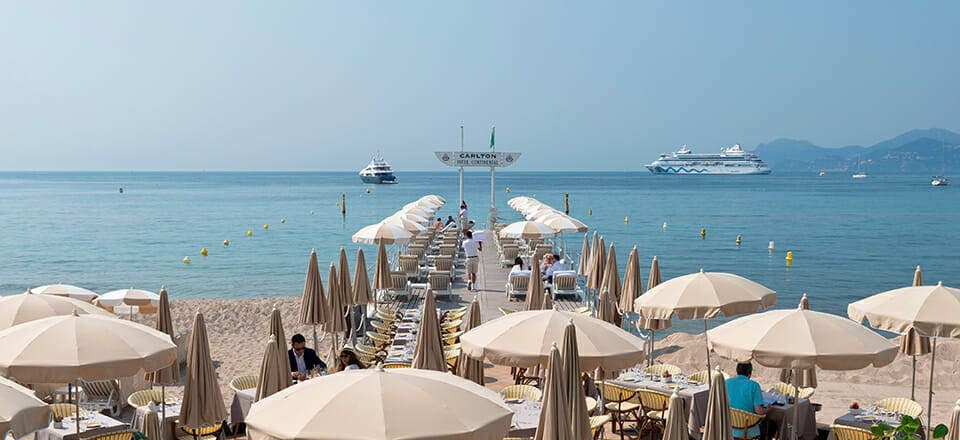 Cannes Carlton Beach