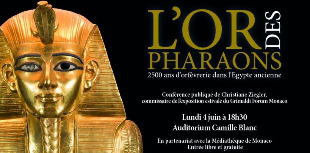 """«The Golden Treasures of the Pharaohs""""exhibition"""