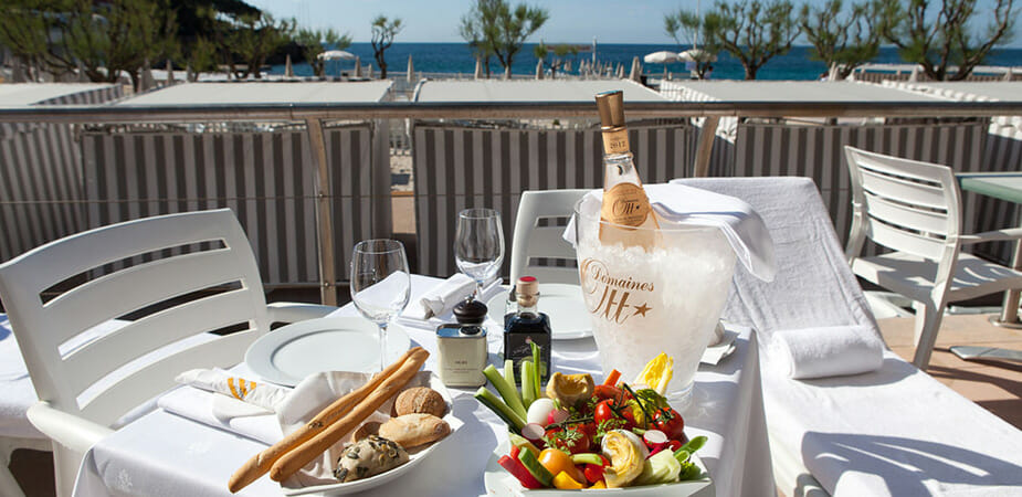 Monte-Carlo Beach Club les cabans couchettes