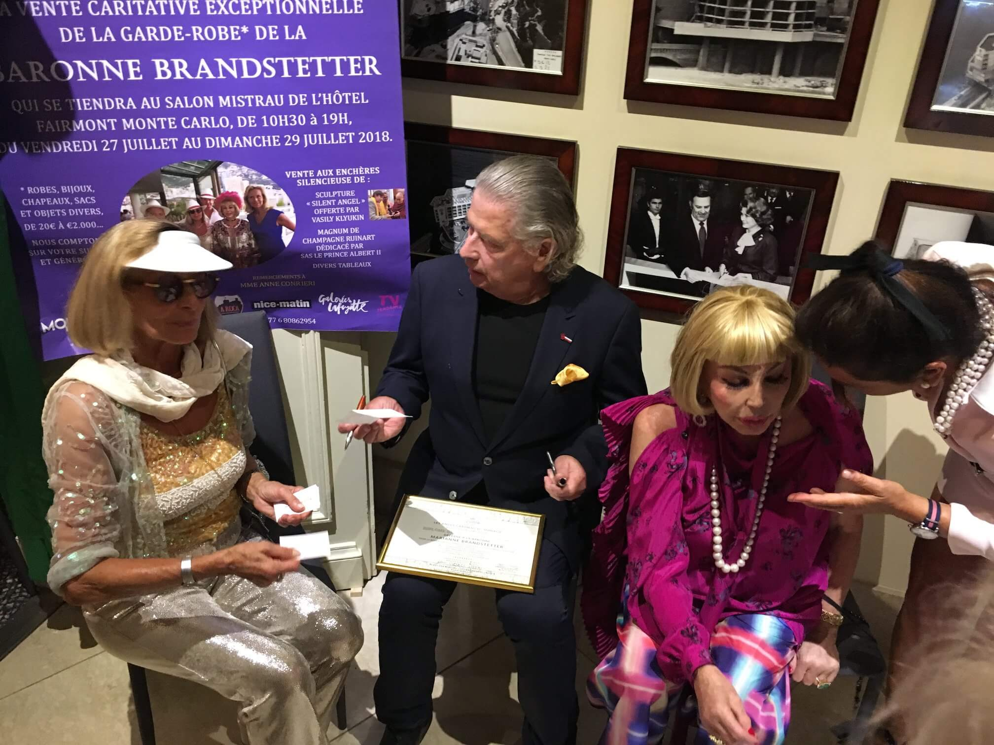 Baroness Brandstetter auction