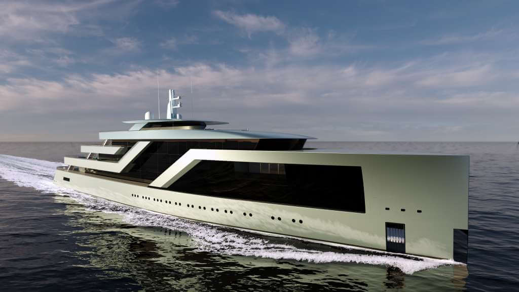 100-metre superyacht concept by Isaac and other yacht news