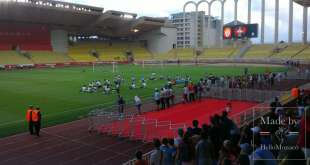 AS Monaco Football Club in all its catching glory at the 1st Open Training