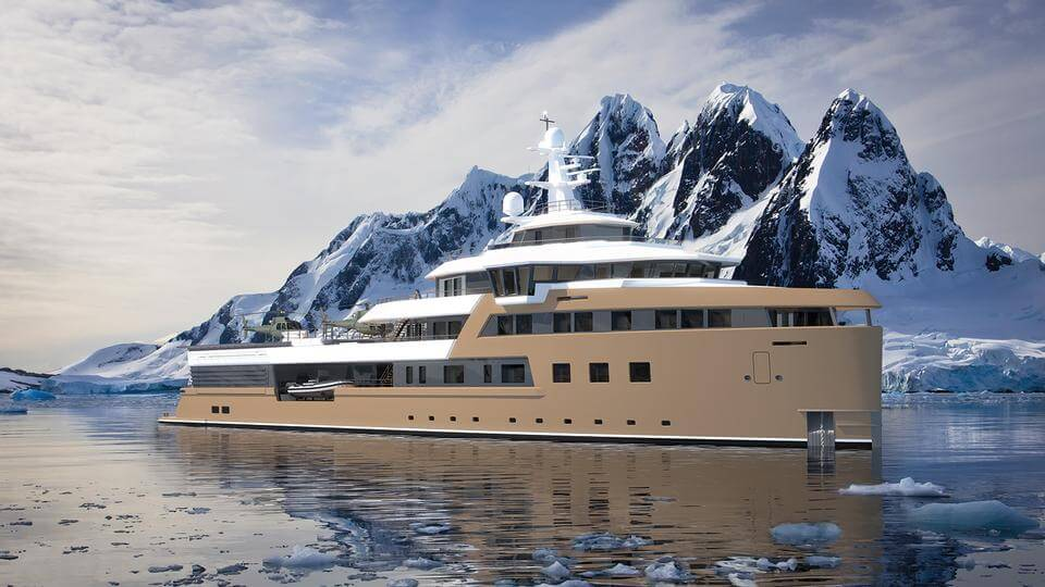 75-metre Damen SeaXplorer expedition yacht