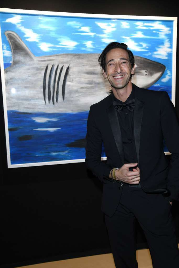 Adrien Brody Monte-Carlo Gala for the Global Ocean