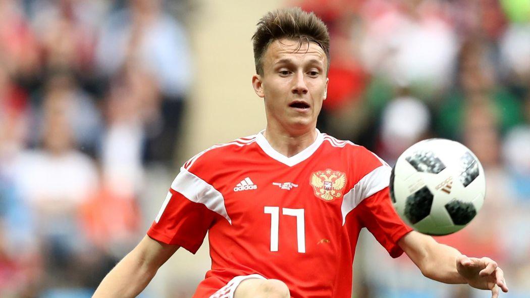Aleksandr Golovin signs AS Monaco
