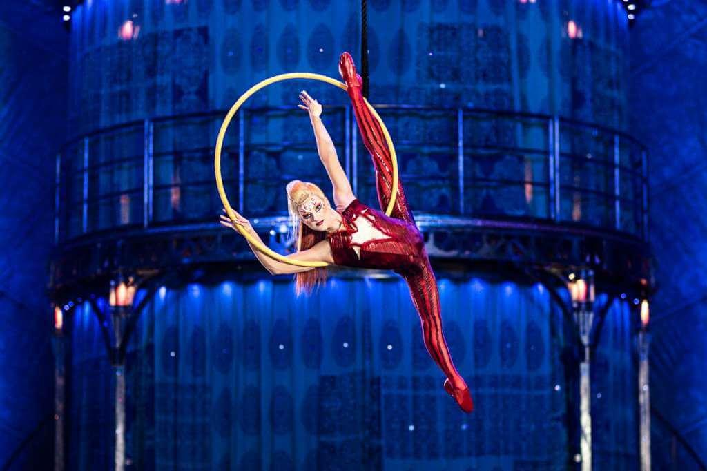Cirque du Soleil create a Monte-Carlo Extravaganza