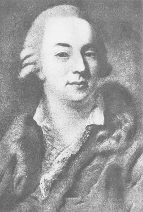 Giacomo Casanova by Alessandro Longhi