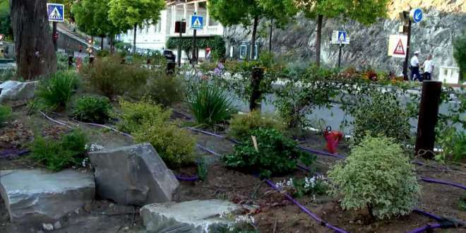New Green Space at Place d'Armes