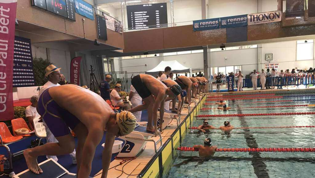 Photo of Monaco Swimmers Overwhelm the Competition at the French Swimming Championships