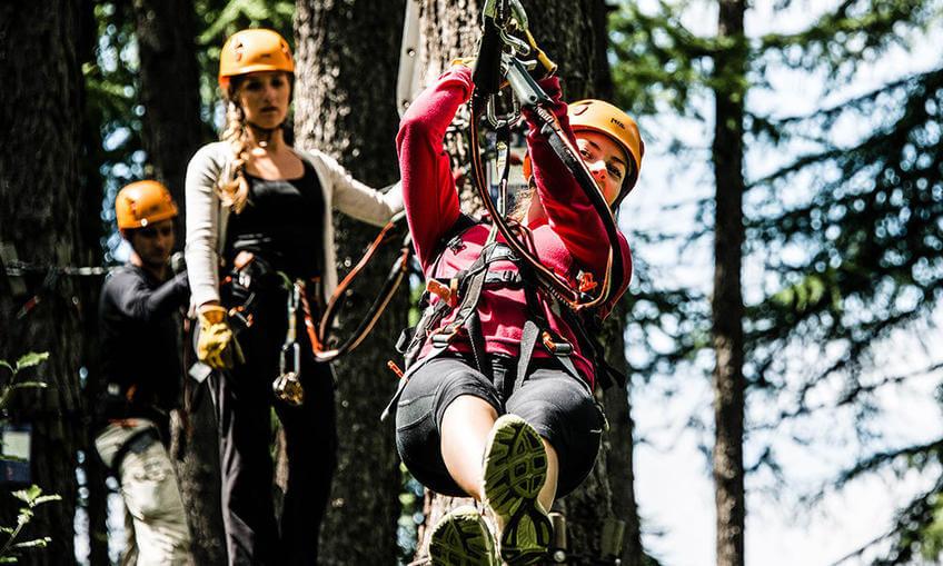 Photo of Valberg Treetop Adventure Park