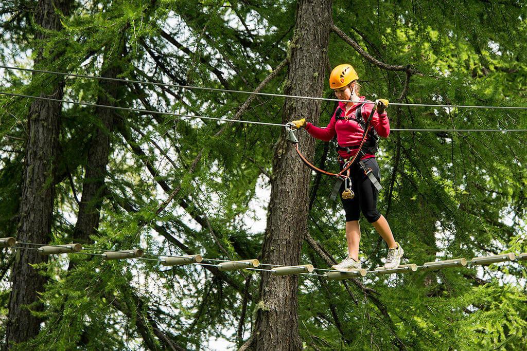 Valberg Treetop Adventure Park
