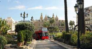 See All of Monaco in One Hour - Aboard the Big Red Bus