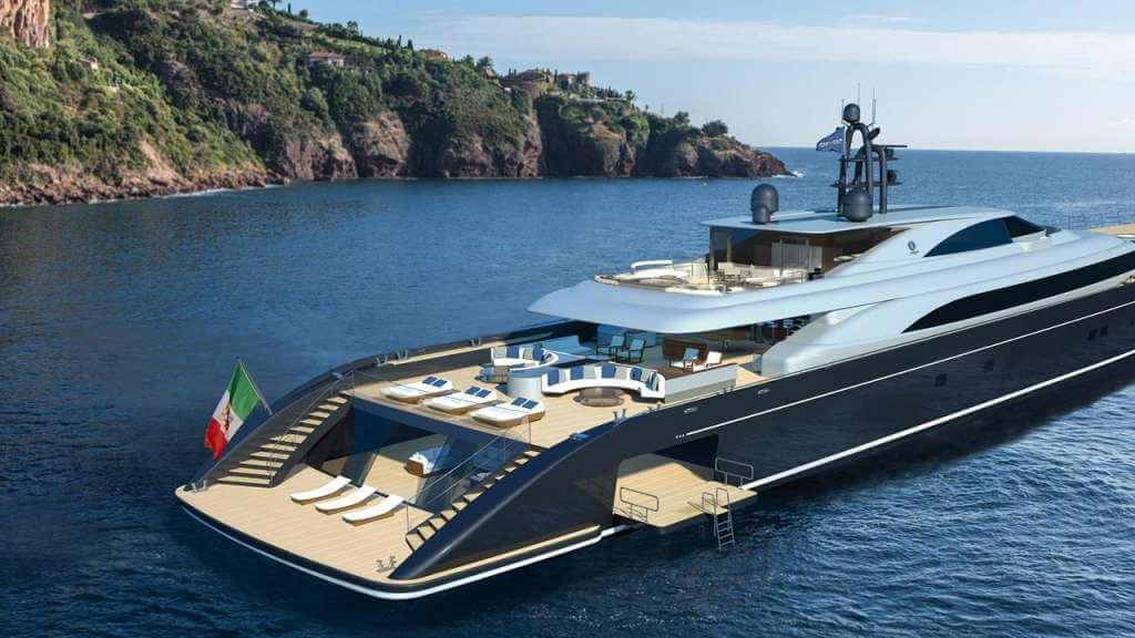 92-metre superyacht concept Argonaut