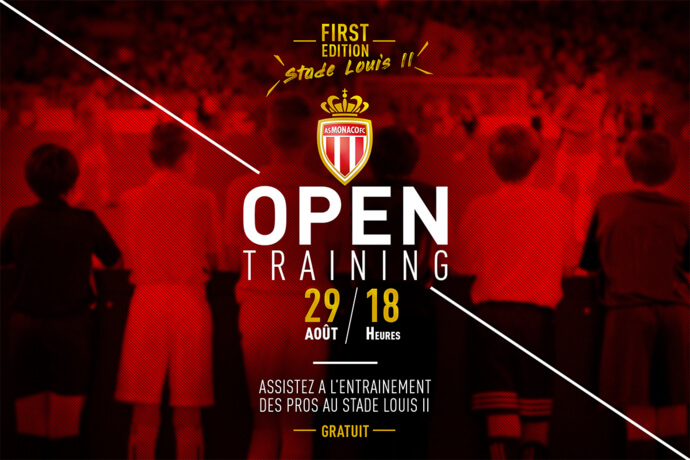 AS Monaco Open Training