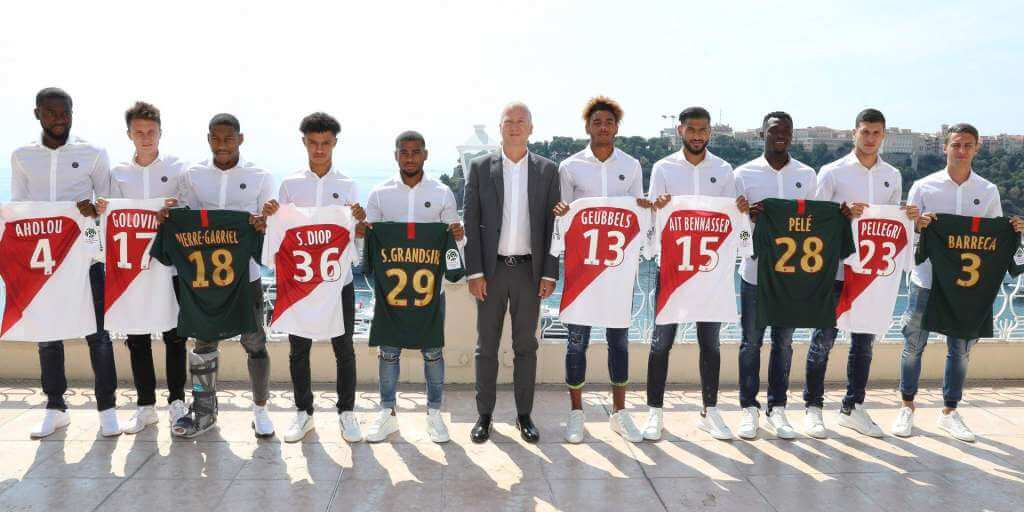 AS Monaco Football present New Players and other news