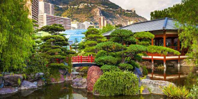 Purity Of Zen Thought And Peace Reign In Monaco's Japanese Garden