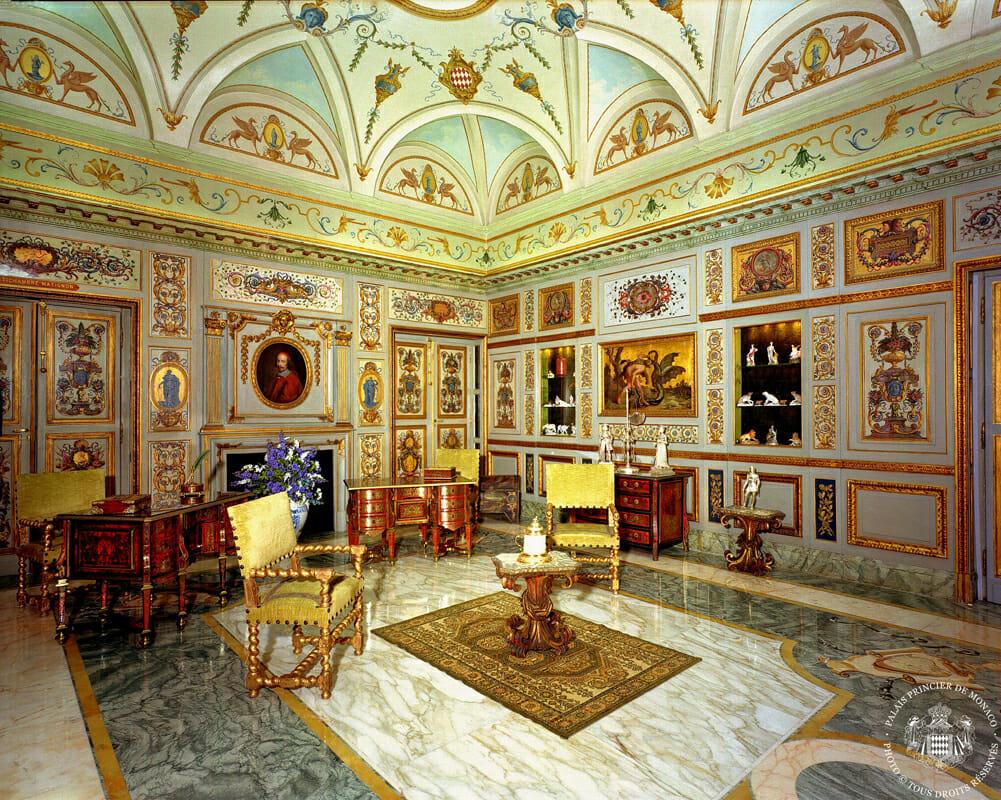 Salon Mazarin du Palais Princier