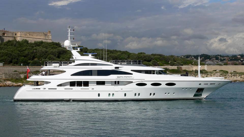 52-metre superyacht Falcon