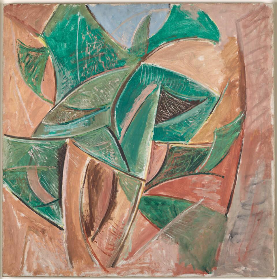 Picasso. L'arbre