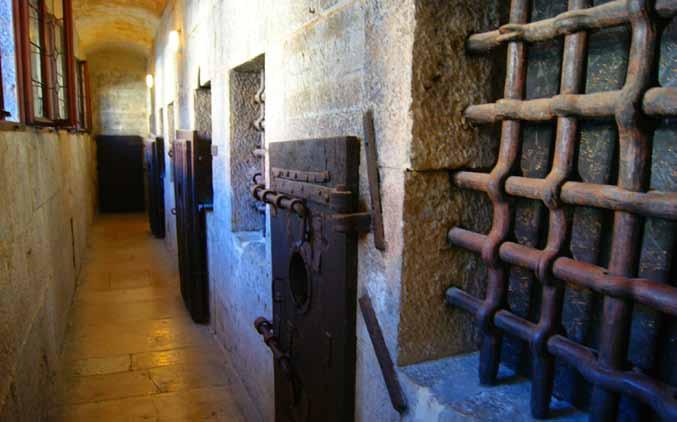 Piombi prison in Venice, Italy