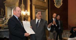 Prince Albert Honorary Citizen Palermo