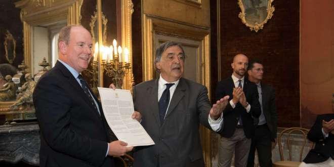 Prince Albert Honorary Citizen Palermo