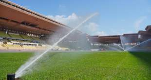 Pitch at Louis II Stadium renovated