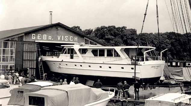 Stalca was launched in 1971 by Visch Holland
