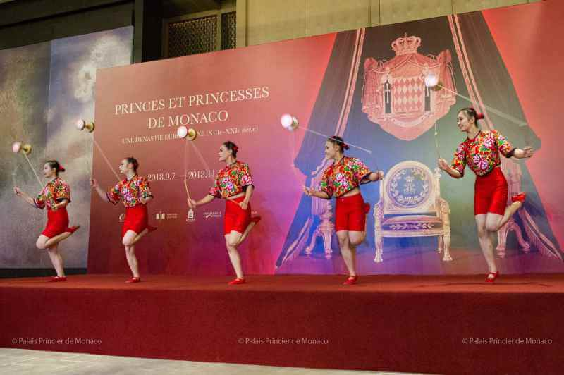 Prince Albert II inaugurates 'Princes and Princesses of Monaco' exhibition