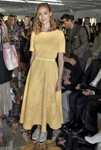 Beatrice Borromeo attended MFW Byblos Fashion Show