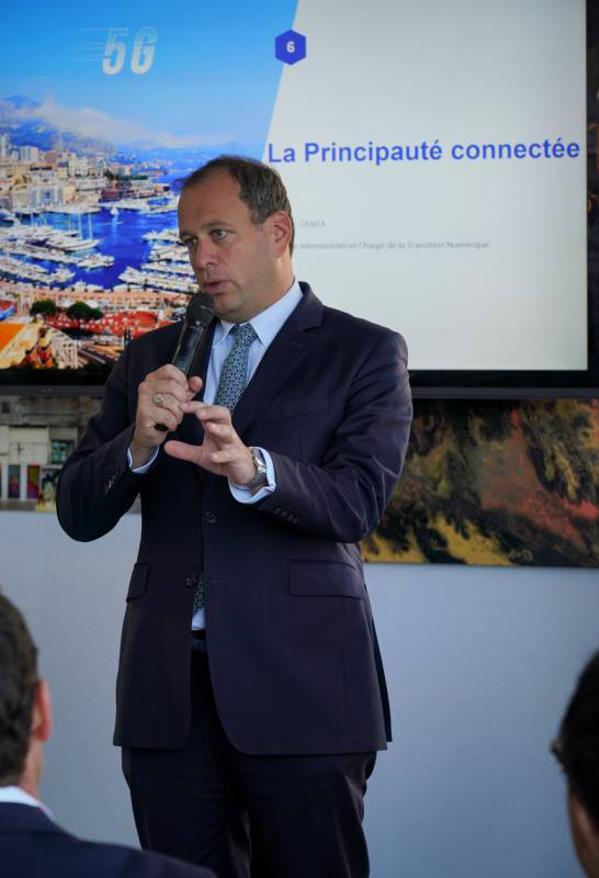 "A new ""Digital Era"" starts from the Principality kicking off 5G Mobile Network in world preview"