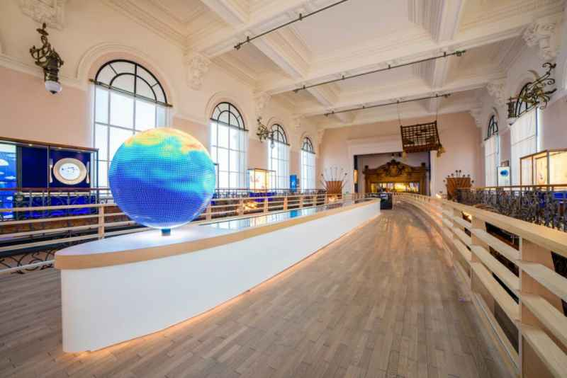 Monaco's Oceanographic Museum Attracts Record Numbers To Its New Expo