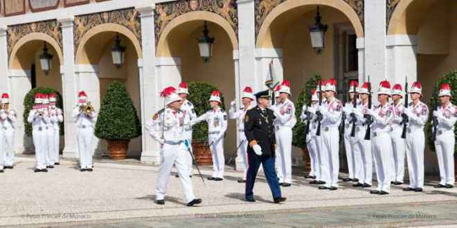 Princely Family of Monaco attended a handover ceremony