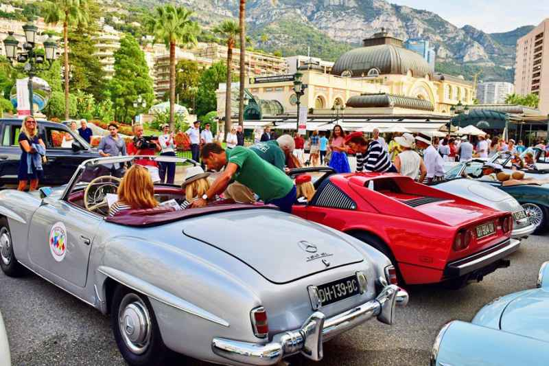 5th female rally, founded by the Child CARE Monaco