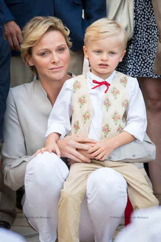 Princess Charlene and Crown Prince Jacques