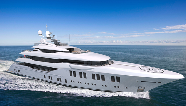 67-metre Bilgin 220 superyacht started construction