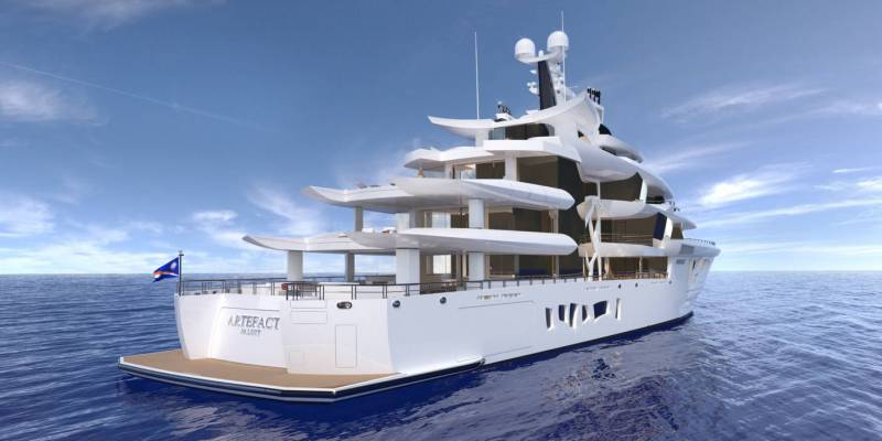 80-meter superyacht known as Project 790