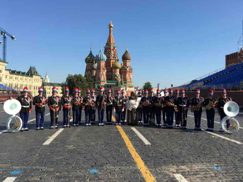 Photo of Princess Stephanie attends Moscow's Military Music Festival and other princely news