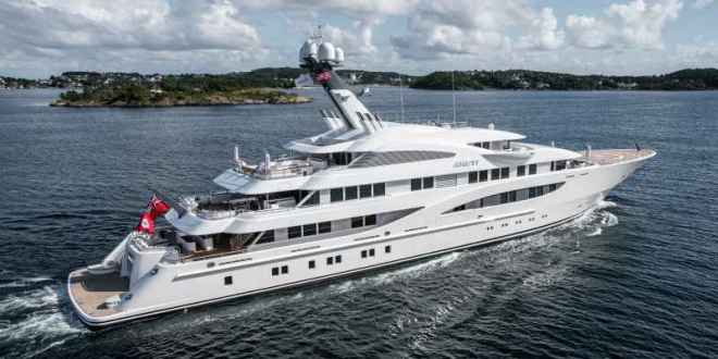 Areti, the 85.3-meter Lurssen superyacht