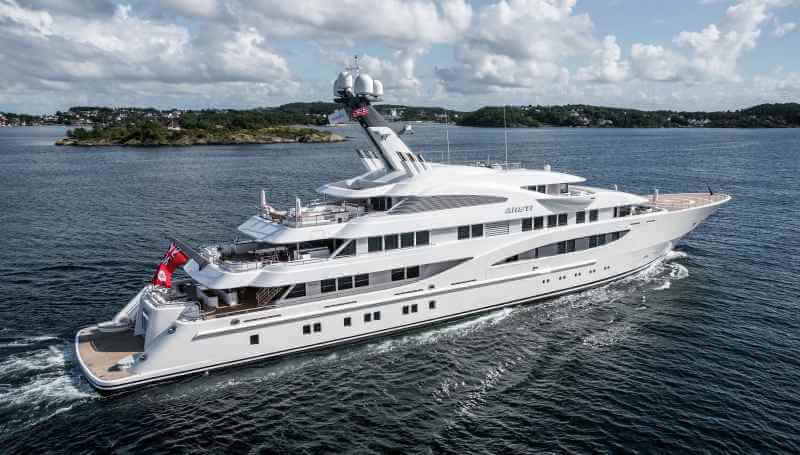 Photo of Areti: One of the largest yachts at the MYS now listed for sale