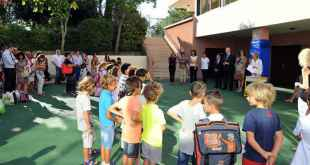 Monaco Students Go Back To School