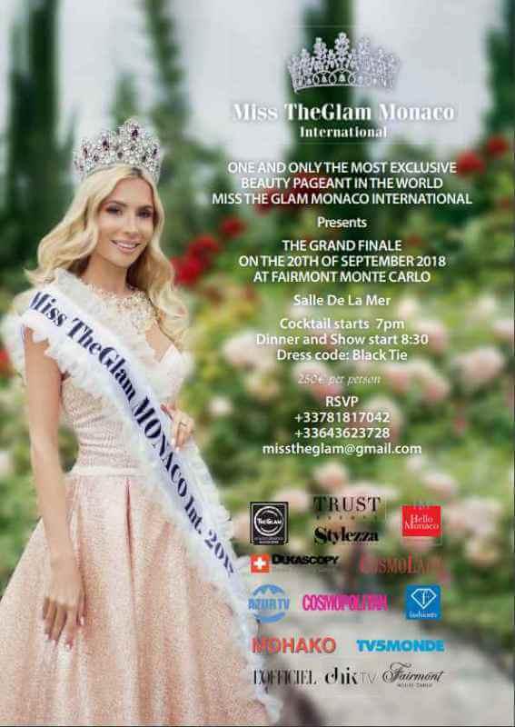 Miss TheGlam Monaco International