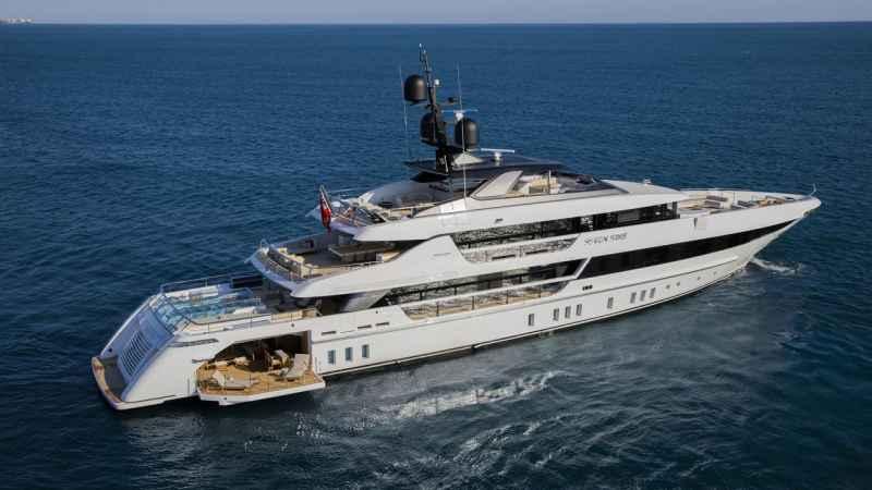 52-metre yacht Seven Sins by Sanlorenzo