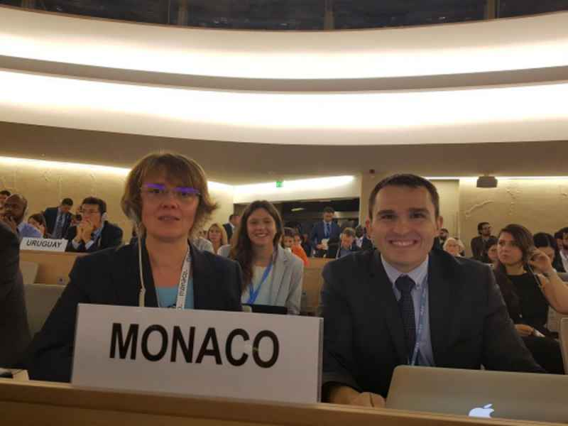 Monaco Attends the 39th Session of the Human Rights Council