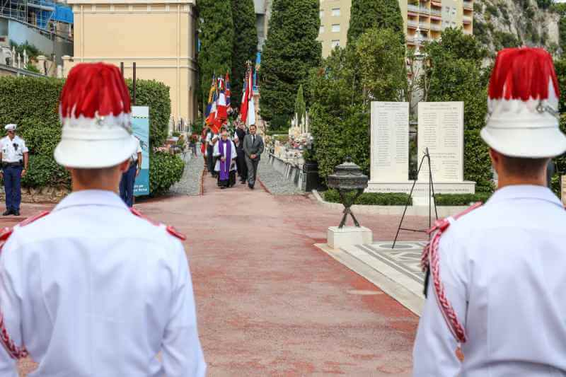 Commemorating the Liberation of Monaco 2018