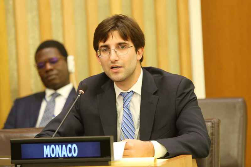 UN - Monaco Attends the Intergovernmental Conference