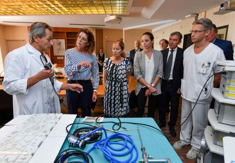 Photo of G.E.M.L.U.C. Makes it Possible to Purchase Three Pieces of Equipment for the Princess Grace Hospital