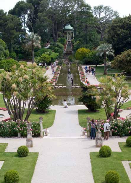 Garden in Villa Ephrussi de Rothschild