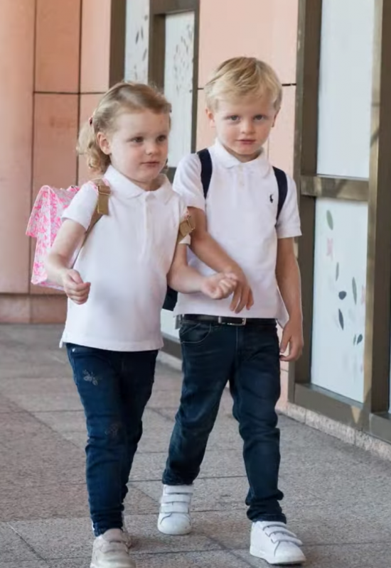 Prince Jacques and Princess Gabriella's First day of School